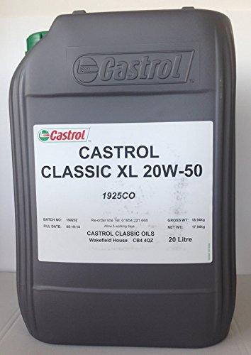 Castrol XL 20W50 Motoröl, 20L