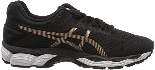 ASICS Damen Glorify 4 Laufschuh, Black/Rose Gold, 37.5 EU