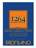 Fabriano 19100641 Honsell 19100640-Fabriano - Bloc de dibujo (70 g/m², papel DIN extrablanco, semitransparente, para rotuladores a base de alcohol, disolvente y agua, 100 hojas)