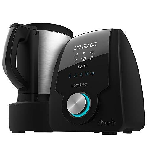 Cecotec Robot de Cocina Multifunción Mambo Black. Capacidad...