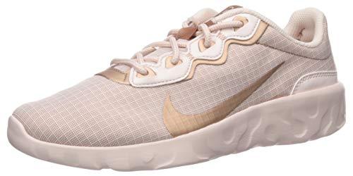 Nike Damen Women's Explore Strada Turnschuh, Hell-Weich, Rosa/Metallic, Rot/Bronze, 36 EU