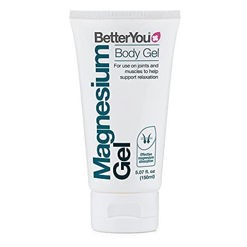 BetterYou Magnesium Gel Body Gel | Pure, Clean, and Natural Source Magnesium Chloride Body Gel | Transdermal Magnesium Body Gel | 5 oz