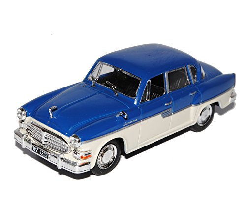 Unbekannt Sachsenring P240 Limousine Blau Weiss 1/43 Modellcarsonline Modell Auto
