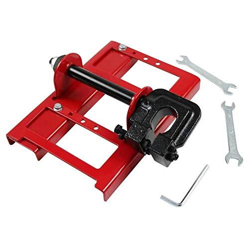 Mini marco abierto, marco abierto de corte vertical, trabajador de la construcción carpintería molino de sierra de cadena, barra de guía de corte de madera