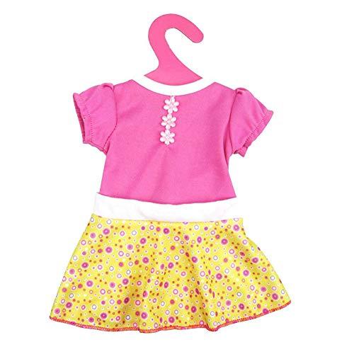 Hilai Fashion Dress für 18 Zoll American & 43 cm Born Baby Doll Kleidung Accessoires Generationen Geburtstag des Mädchens Geschenk Puppenzubehör