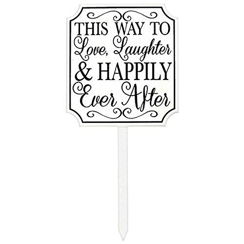 Amscan This Way to Happily Ever After Wedding Accessory and Decoration