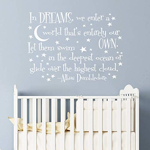 Amazon.com: Fairytale Quote Decal Wizard Quote Wall Decals Nursery Decor Fairy Quotes Baby Room Wall Decals/Wall Decal Nursery Quote Vinyl Sticker/ Nursery Quote Decal Vs63: Handmade