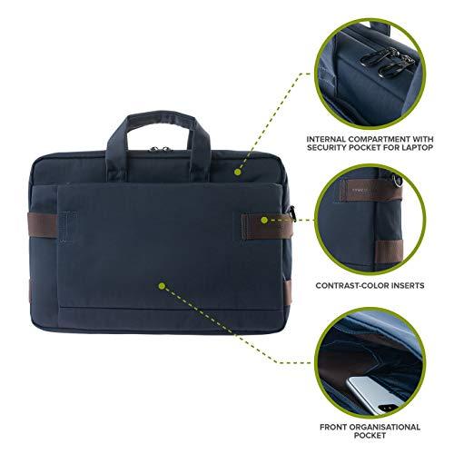 Tucano - Stria - Borsa per Notebook 13.3  o 14  e MacBook PRO 13  Retina - Blu