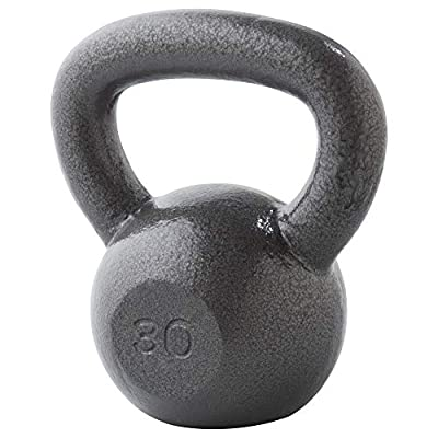 Weider 30 Lb. Cast Iron Kettlebell by Icon Health & Fitness