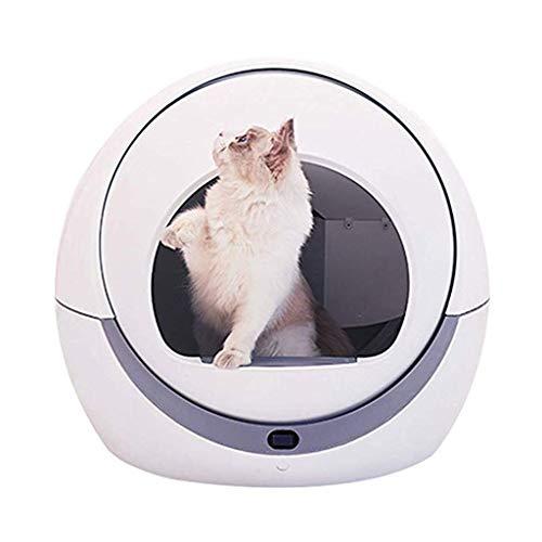 Mysida Cat Litter Box Selbstreinigendes Katzentoiletten-Tray Deodorant Geschlossenes Katzentoiletten-Nesttrainingssystem Leicht zu reinigende Filterwanne Wasserdicht