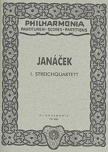Sheet music String Quartet No.1. Miniature Score Book