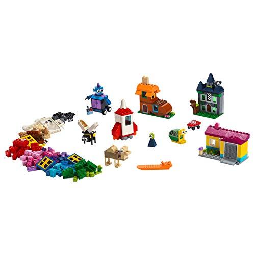 LEGO 11004 Classic Windows of Creativity Brickset, Fun Colourful Toy Bricks