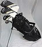 Mens Callaway Golf Set Driver, 3 Wood, Hybrid, Irons, Putter Stand Bag All Graphite Reg Flex