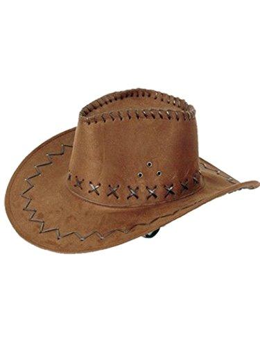 Chapeau de cowboy marron clair