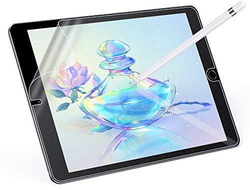 MagoFeliz Paper-Feel Matte Schutzfolie für iPad 10.2 Zoll (2019/2020)/iPad Air 3 /iPad pro 10.5 Zoll, Weiche PET Folie Schreiben wie auf Paper, [Unterstüzt Pencil] [Nicht Glas]