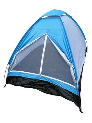 2-Personen Zelt Kuppelzelt Iglu für Camping Spaß Gr. 200x150x110 cm Blau