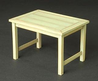 コバアニ模型工房 1/12 レトロなテーブル 木製組立キット WF-026
