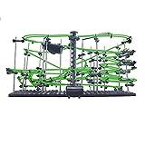yxx Mármol Run Goldberg Machine Kit Roller Coaster Building Set DIY Toy Rail Nivel 1-9 Pistas extremas con Bolas de Acero de 2 a 12 Piezas para niños y Adultos (Color : Level 4 Luminous Version)