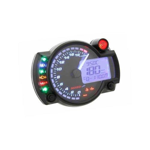Koso Multifunctional Speedometer RX2N+ GP Style max 20000 RPM