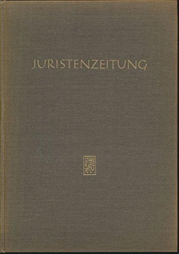 JZ Juristenzeitung 1966 22. Jahrgang (Gebundener Jahrgang)