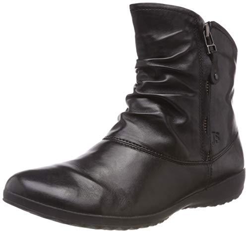 Josef Seibel Damen Stiefeletten Naly 24, Frauen Halbstiefel, Stiefel Boot halbstiefel übergangsschuh winterschuh,Schwarz,36 EU / 3 UK