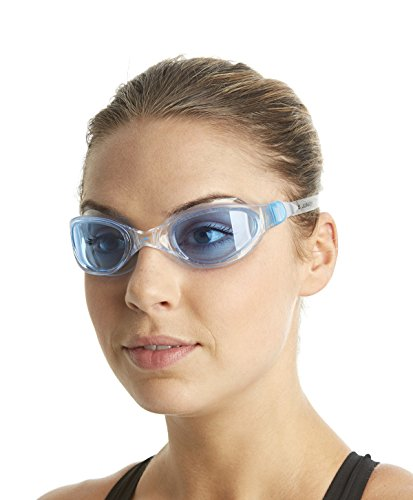 Speedo Unisex Schwimmbrille Futura Plus, clear/blue, one size, 8-090093537