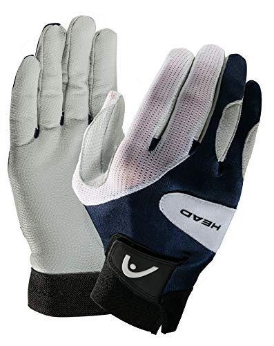 HEAD Leather Racquetball Glove - Renegade Extra Grip Breathable Mesh Glove - Large, Left Hand