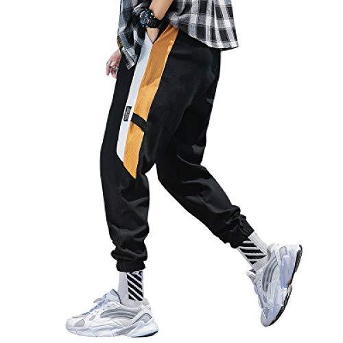 Pantalones para Hombre Cargo Color sólido Cintas Harem Joggers Harajuku Pantalones de chándal Hip Hop Cargo Combat Work Pantalones