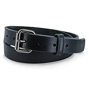 Hanks 1.25″ Leather Belt -Casual Jean Belt-USA Made,100-Year Warranty-The Deputy