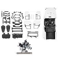 オープンカーボディシェル、カーボディシェル、RCカーRC玩具の衝突防止(white)