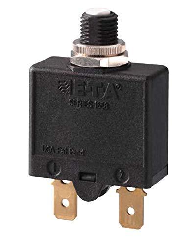 Interruptor automático E-T-A con desconexión térmica, 30 A, rearmable, conexión mediante fast-on estándar, excedente proyecto