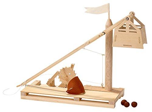 moses. Trebuchet Bausatz Da Vincis GEOlino , Katapult zum Selberbauen , Mit bebilderter Anleitung
