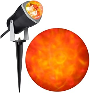 Halloween Outdoor Decoration LED Fire & Ice Spot Light Effect Projector RRY (1) (1)