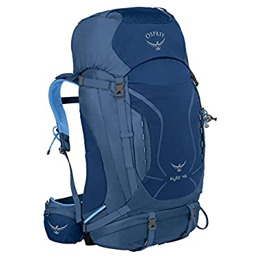 Osprey Packs Women's Kyte 46 Backpack, Ocean Blue, X-Small/Small