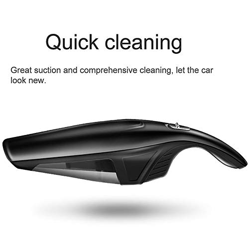 Find Bargain ZUEN Car Vacuum Cleaner Wireless Charging Portable Handheld Mini Vacuum Cleaner Wet and...