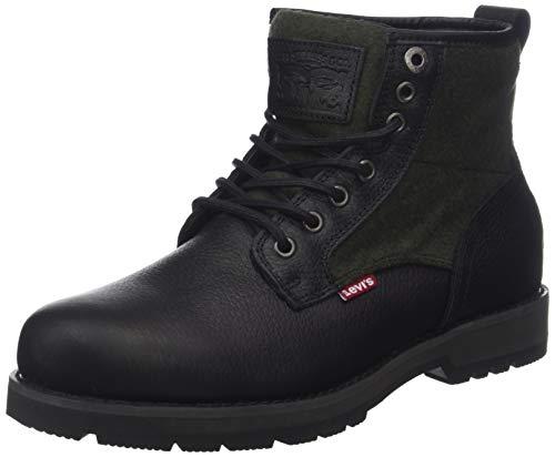 Levi's Herren Logan Desert Boots, Schwarz (Noir Regular Black 59), 43 EU