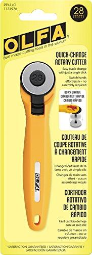 OLFA RTY-1/C Rotary Cutter, Yellow