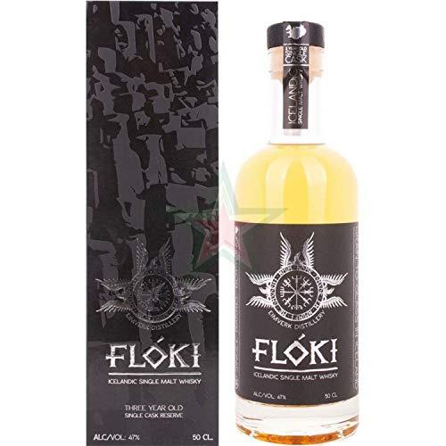 Flóki Icelandic Single Malt Whisky 47,00% 0,50 Liter