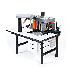 cheap Eapmic Desktop Edge Bander, Portable Double Sided Woodworking Adhesive, 110 V, Edge Bander, Wood …