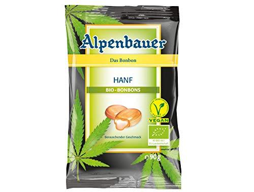 Alpenbauer Bio Hanf Bonbons mit einem Hauch von Mango Glutenfrei 90g