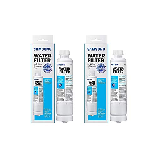 Samsung HAF-CIN/EXP Refrigerator Water Filter (2-Pack) Bundle (2 Items)