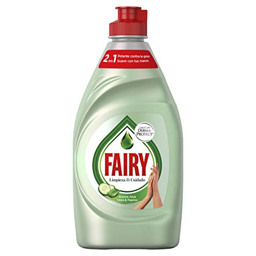 FAIRY lavavajillas mano concentrado aloe vera botella 340 ml