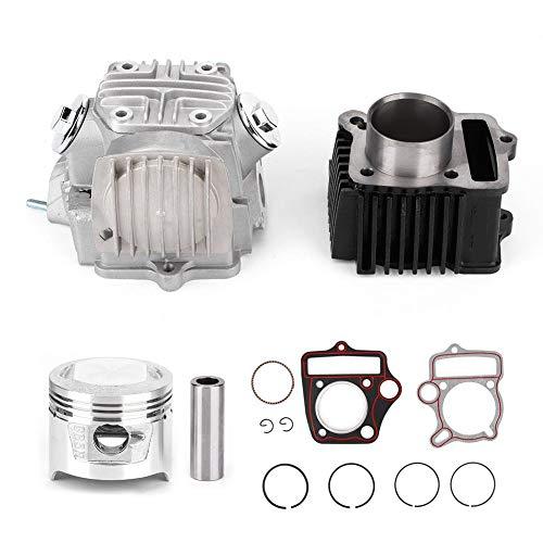 KIMISS Cylinder Kit, 70CC Motorzylinder-Umbausatz Passend für ATC70 CRF70 C70 TRX70 XR70 H CK06