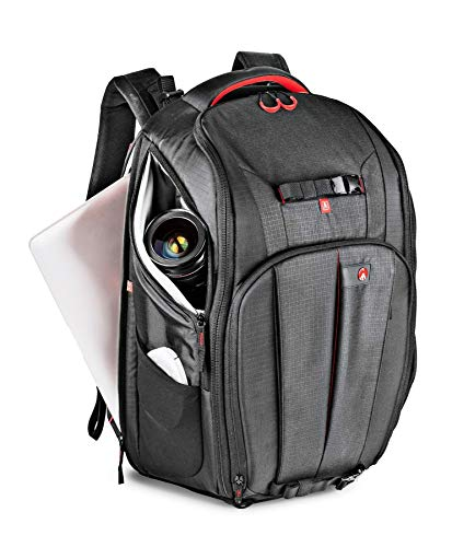 Manfrotto Pro Light Cinematic Expandable Camcorder Backpack, Professional Photography Backpack, for Camcorders with Lens up to 70-200/2,8 mm and up to 10 Lenses, with Pocket for 17' Laptop - Black