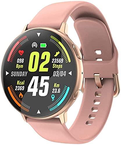 GPWDSN IP68 Impermeable Reloj Inteligente Termómetro Todo el día Mensaje de detección de cardiograma Push Activity Tracker Reloj Deportivo