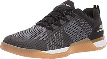 Skechers Men s GO Train-Viper Sneaker Black/Gold 8.5 M US