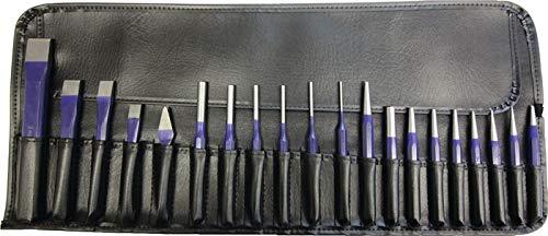 PROMAT Werkzeugsatz Inh. 20tlg. Chrom-Vanadium-Lufthärtestahl in Rolltasche PROMAT, Inhalt 20 teilig, Chrom-Vanadium-Lufthärtestahl