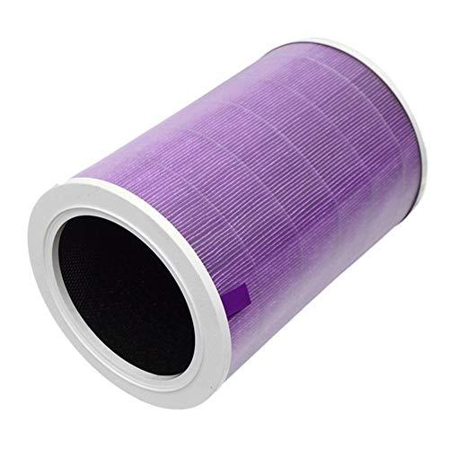 Reunion Filtre à air Filtre à Cartouche for élément Xiaomi Mi Purificateur d'air 1/2 / Pro / 2S 1pc (Color : Purple)