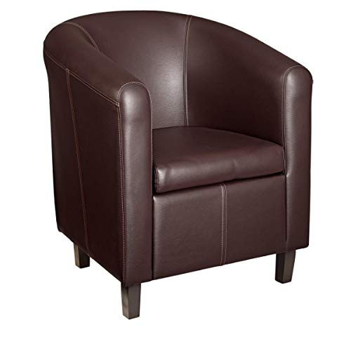 VEGA 10094812 Sessel Wilkins, 71x73x79 cm (BxTxH), Sitz braun, 1 Stück