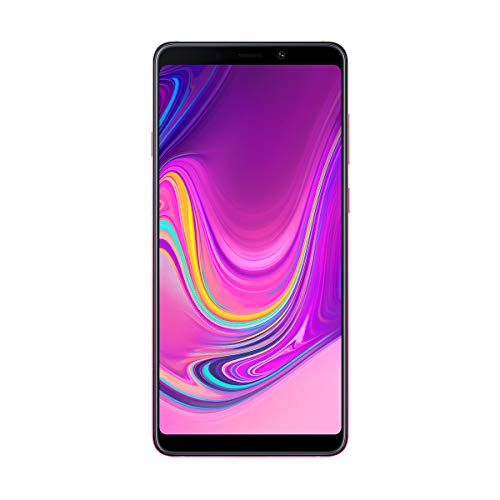 "Samsung Galaxy A9 - Smartphone de 6.3"" (4G, Octa-Core, RAM de 6 GB, Memoria de 128 GB, 4 cámaras de 24+5+10+8 MP, Android), Rosa"